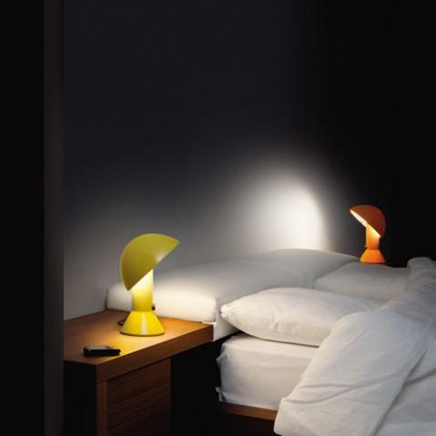 lampe poser elmetto martinelli luce jaune