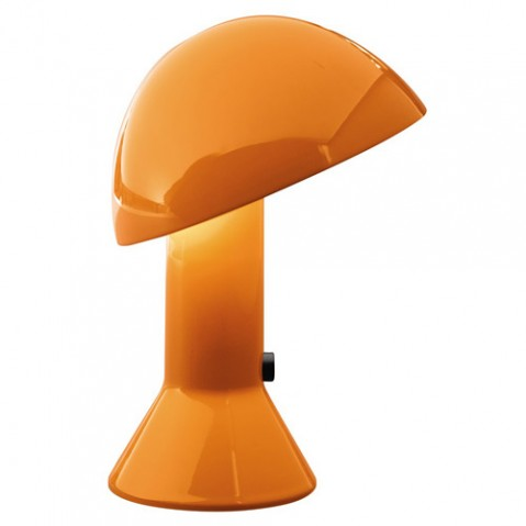 lampe poser elmetto martinelli luce orange