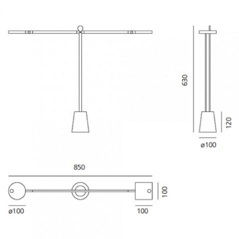 lampe poser equilibrist artemide