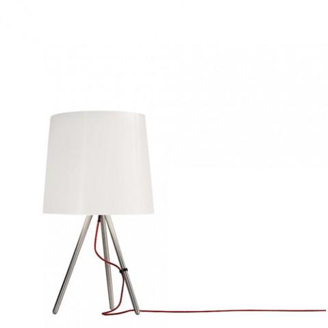 lampe poser eva 38 martinelli luce alu blanc