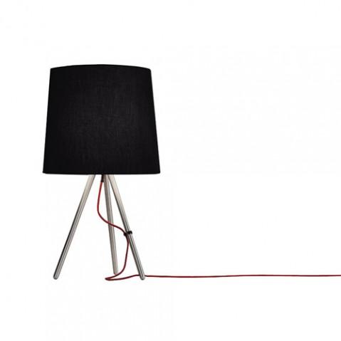 lampe poser eva 68 martinelli luce alu noir