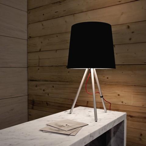 lampe poser eva 68 martinelli luce noir noir