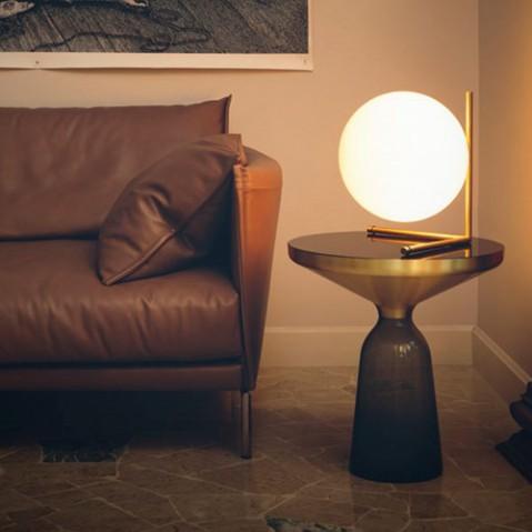 lampe poser ic t2 flos laiton