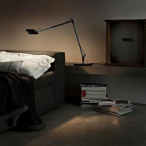 lampe poser kelvin led base noir