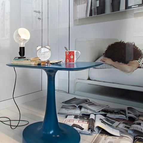 lampe poser lampadina flos orange