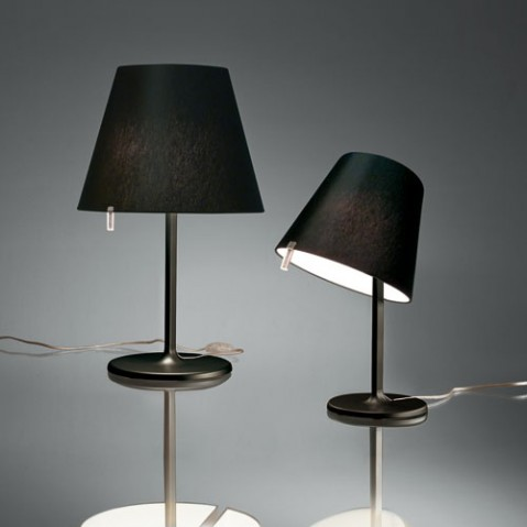 lampe poser melampo artemide aluminium