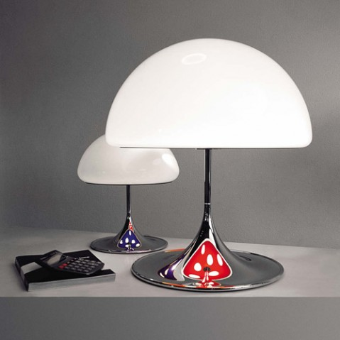 lampe poser mico 55 martinelli luce rouge