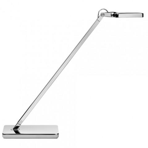 lampe poser mini kelvin led flos chrome