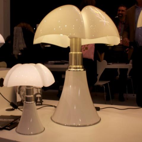 lampe poser mini pipistrello touch martinelli luce blanc
