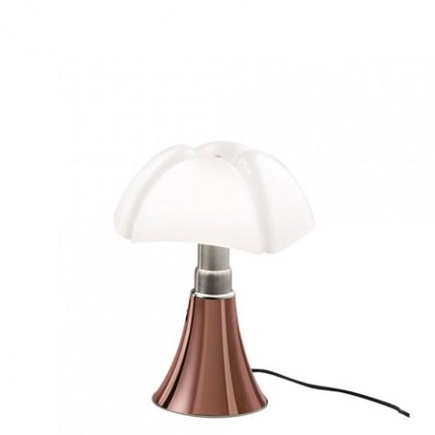 lampe poser led mini pipistrello martinelli luce cuivre