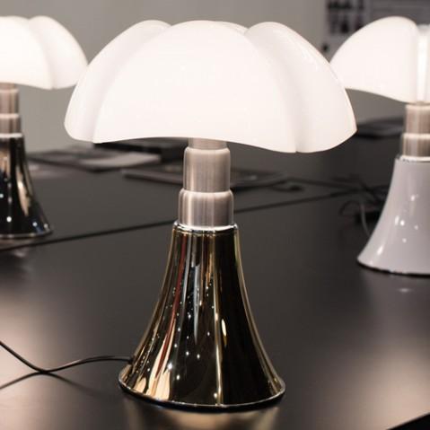 lampe poser mini pipistrello variateur martinelli luce dore