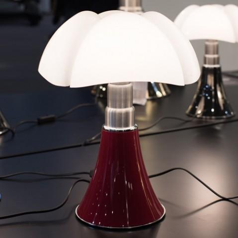 lampe poser mini pipistrello martinelli luce rouge