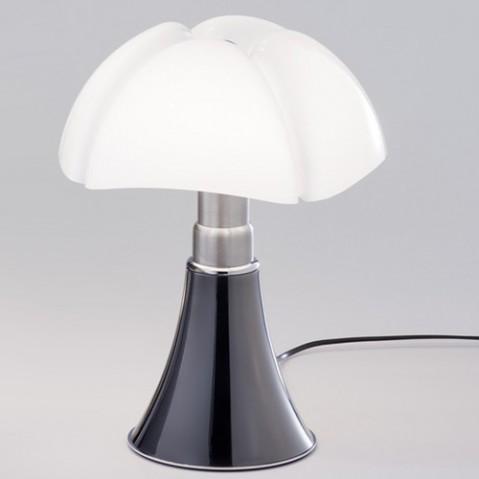 lampe poser mini pipistrello led variateur martinelli luce titane
