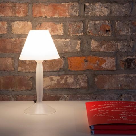 lampe poser miss sissi flos blanc