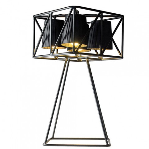 lampe poser multilamp seletti noir