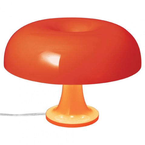 lampe poser nessino artemide orange