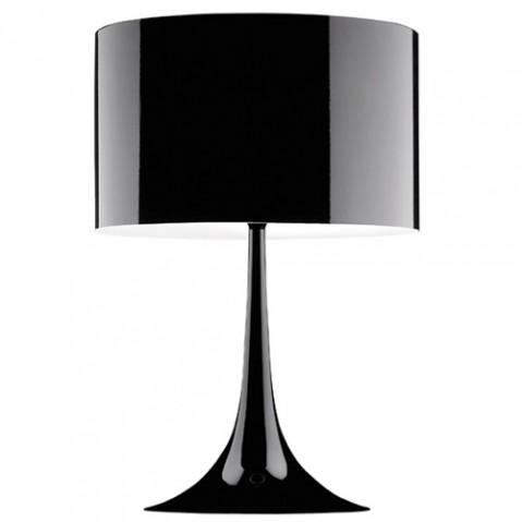 lampe poser spun light t2 flos noir