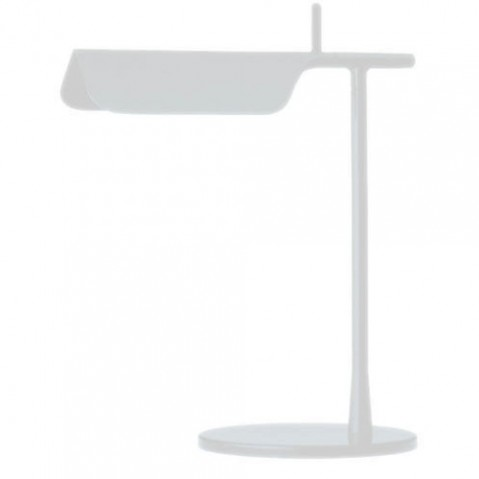 lampe poser tab t led flos blanc