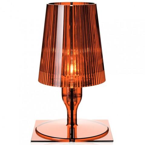 lampe poser take kartell ambre