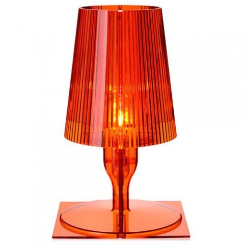 lampe poser take kartell orange