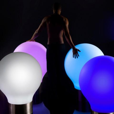 lampe poser the second light 75 rgb vondom