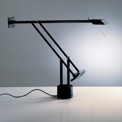 lampe poser tizio led artemide noir