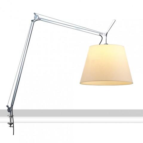 lampe poser tolomeo mega etau 36 artemide parchemin