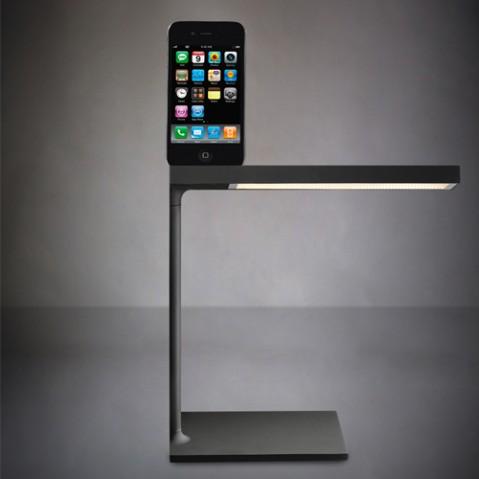 lampe poser d e light flos noir