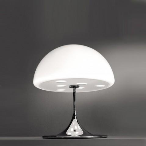 MICO - LAMPE A POSER, 2 tailles, 2 couleurs de MARTINELLI LUCE