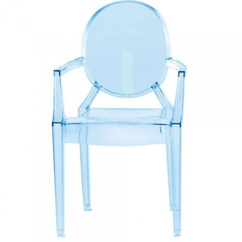 Lou Lou Ghost Fauteuil Enfant Design Kartell Bleu