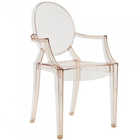 Louis Ghost Fauteuil Design Kartell Orange