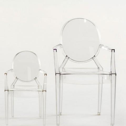 Louis Ghost Fauteuil Design Kartell Jaune