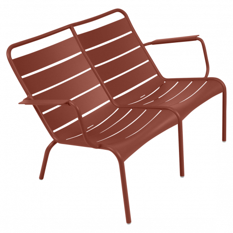 LOUNGER DUO LUXEMBOURG, Ocre rouge de FERMOB