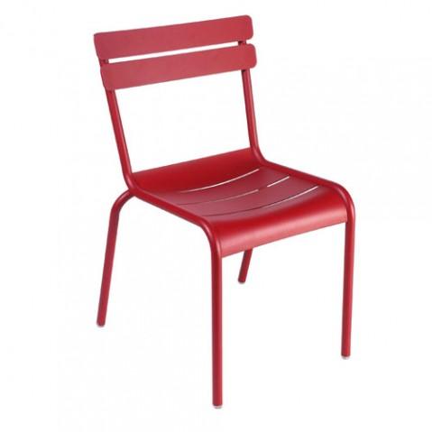 luxembourg chaise fermob piment d espelette