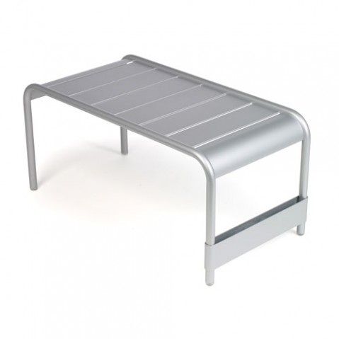 Luxembourg Grande Table Basse Design Fermob Gris Metal