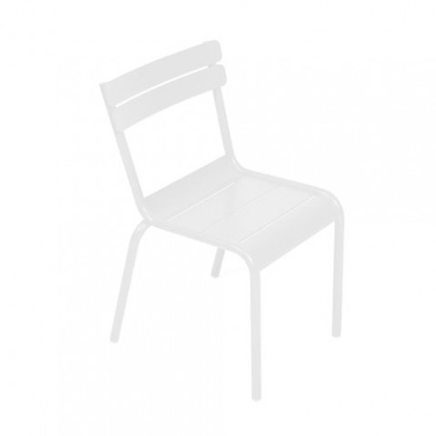 luxembourg kid fermob chaise enfant blanc