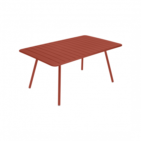 TABLE LUXEMBOURG 165X100, Ocre rouge de FERMOB
