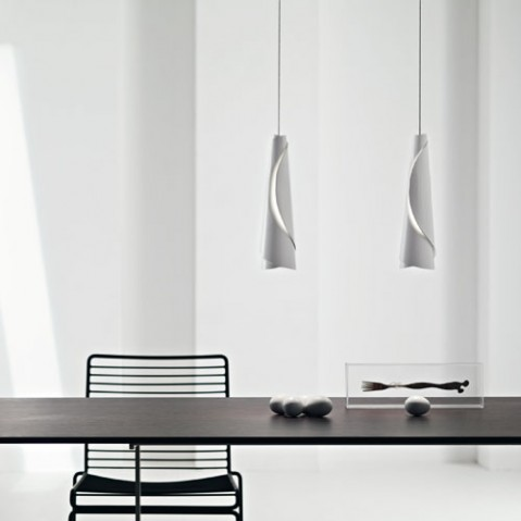 Maki Foscarini suspension design gris