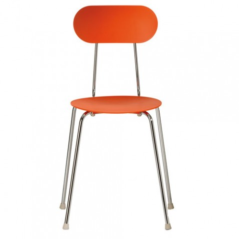 Mariolina Magis chaise design orange