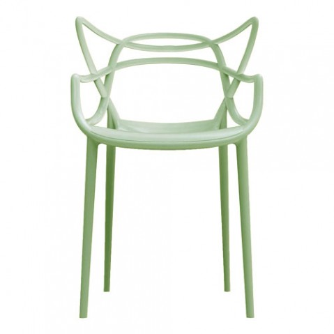 chaise masters kartell vert sauge