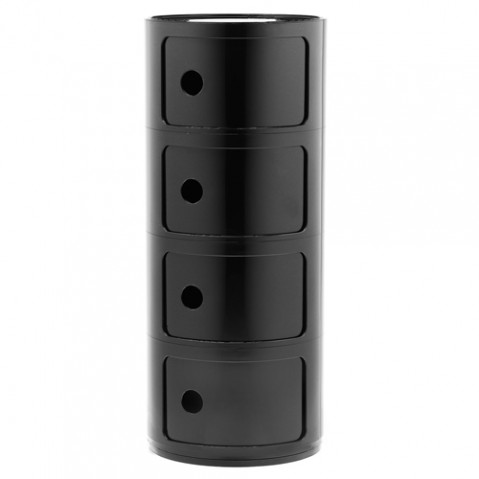 meuble componibili 4 elements kartell noir