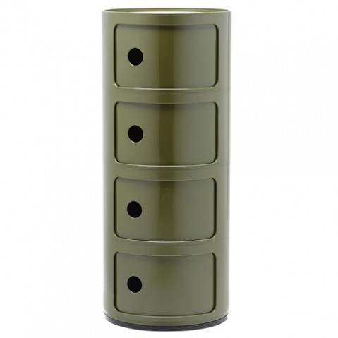 meuble componibili 4 elements kartell vert