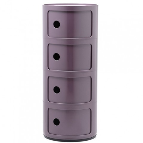 meuble componibili 4 elements kartell violet