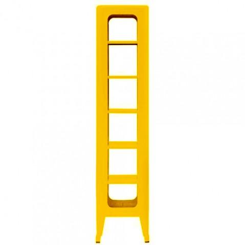 tabouret rangement 1335 tolix jaune