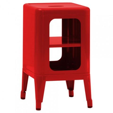meuble tabouret 500 tolix rouge