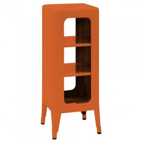 meuble tabouret 750 tolix orange