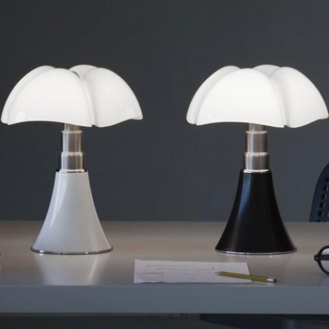 mini pipistrello lampe a poser blanc led de martinelli luce. Black Bedroom Furniture Sets. Home Design Ideas