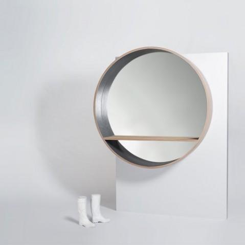 miroir console 125 drugeot labo blanc
