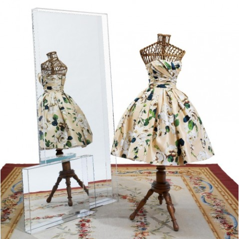 miroir only me 180 kartell cristal