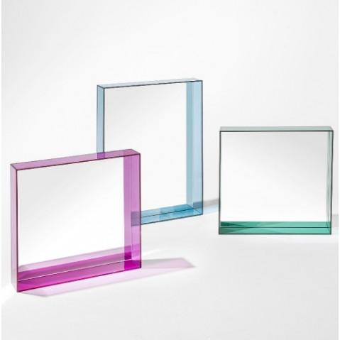 miroir only me 50 kartell bleu